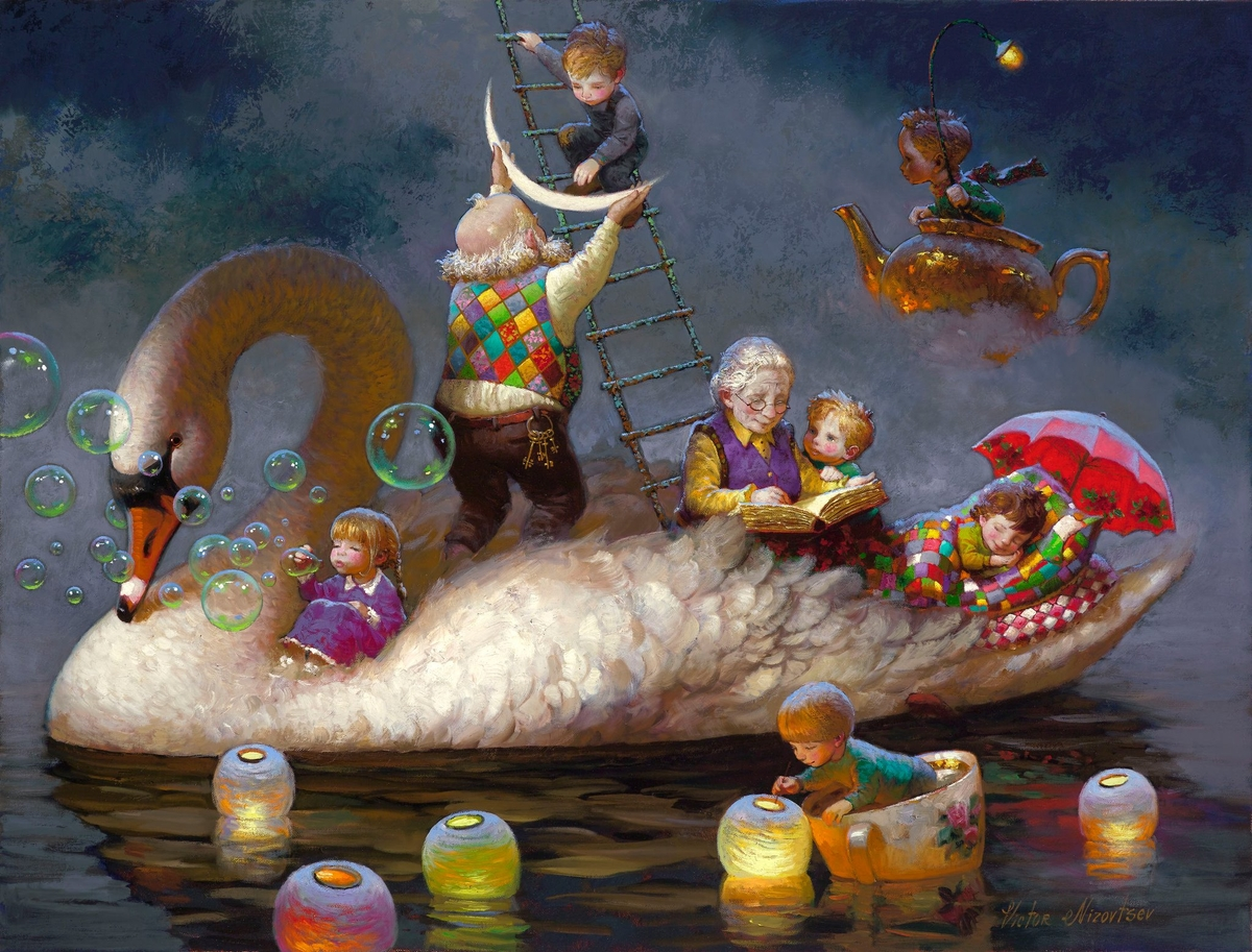 03-No-Name-Victor-Nizovtsev-Daydreaming-with-Fantasy-Oil-Paintings-www-designstack-co