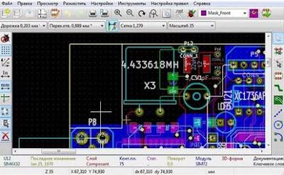 KiCad Desgin system for circuits and PCB