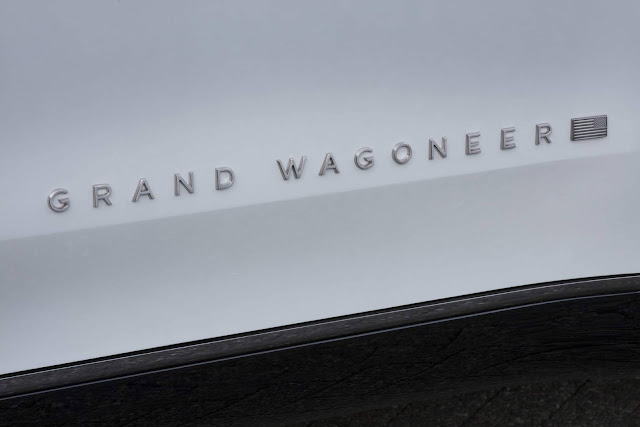 Jeep Grand Wagoneer Concept propõe SUV 100% elétrico