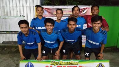 Ponpes Al-Ikhlas Unjuk Gigi di Al-Zahra Futsal Campetition