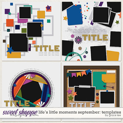 Life's Little Moments September: Templates