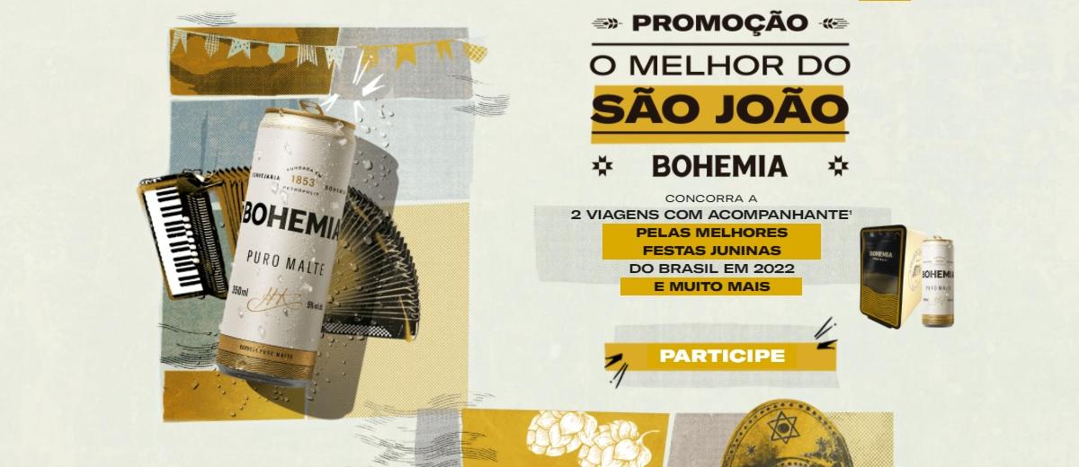 Promoção Bohemia 2021 O Melhor do São João