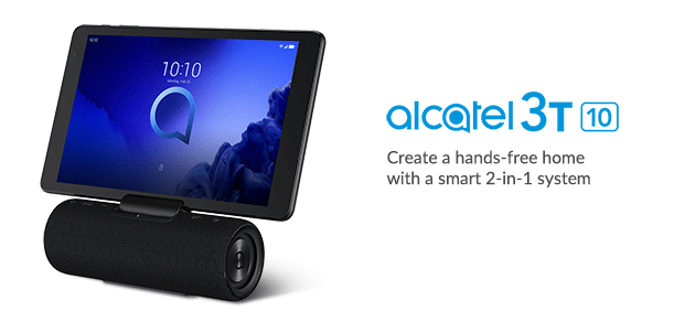 Alcatel 3T 10 tablet with MediaTek MT8765B launched at Rs. 9,999