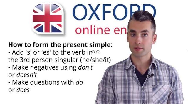كورس تعلم اللغة الانجليزية من اكسفورد الدرس الخامس : شرح المضارع البسيط Present simple
