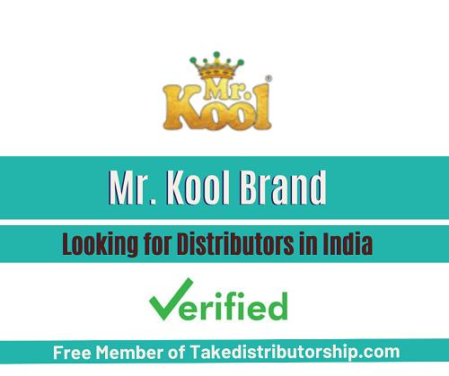 Mr. Kool Brand Products Distributorship
