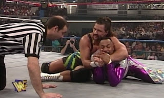 WWF / WWE  In Your House 12 - It's Time: Leif Cassidy faced Flash Funk in the opening match