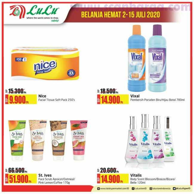 Lulu Hypermarket Katalog Belanja Hemat Terbaru Periode 2 - 15 Juli 2020 6