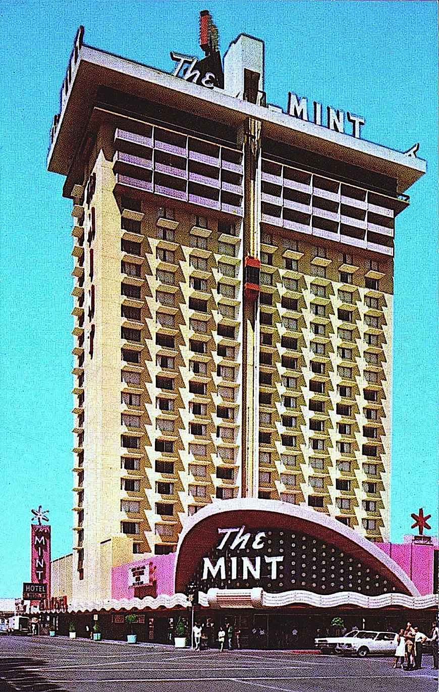 The MINT hotel & casino 1960s, Hunter S Thompson, large color photograph