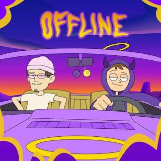 """Copertina di """"0ffline"""", il nuovo singolo di Tha Supreme feat. bbno$."""