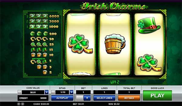 Main Gratis Slot Indonesia - Irish Charms (Pragmatic Play)