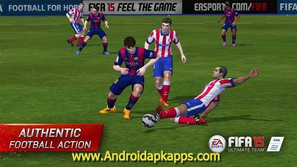 FIFA 15 Ultimate Team Patched Apk v1.5.6 (Non-Root) Full OBB Data Terbaru Gratis Free Download