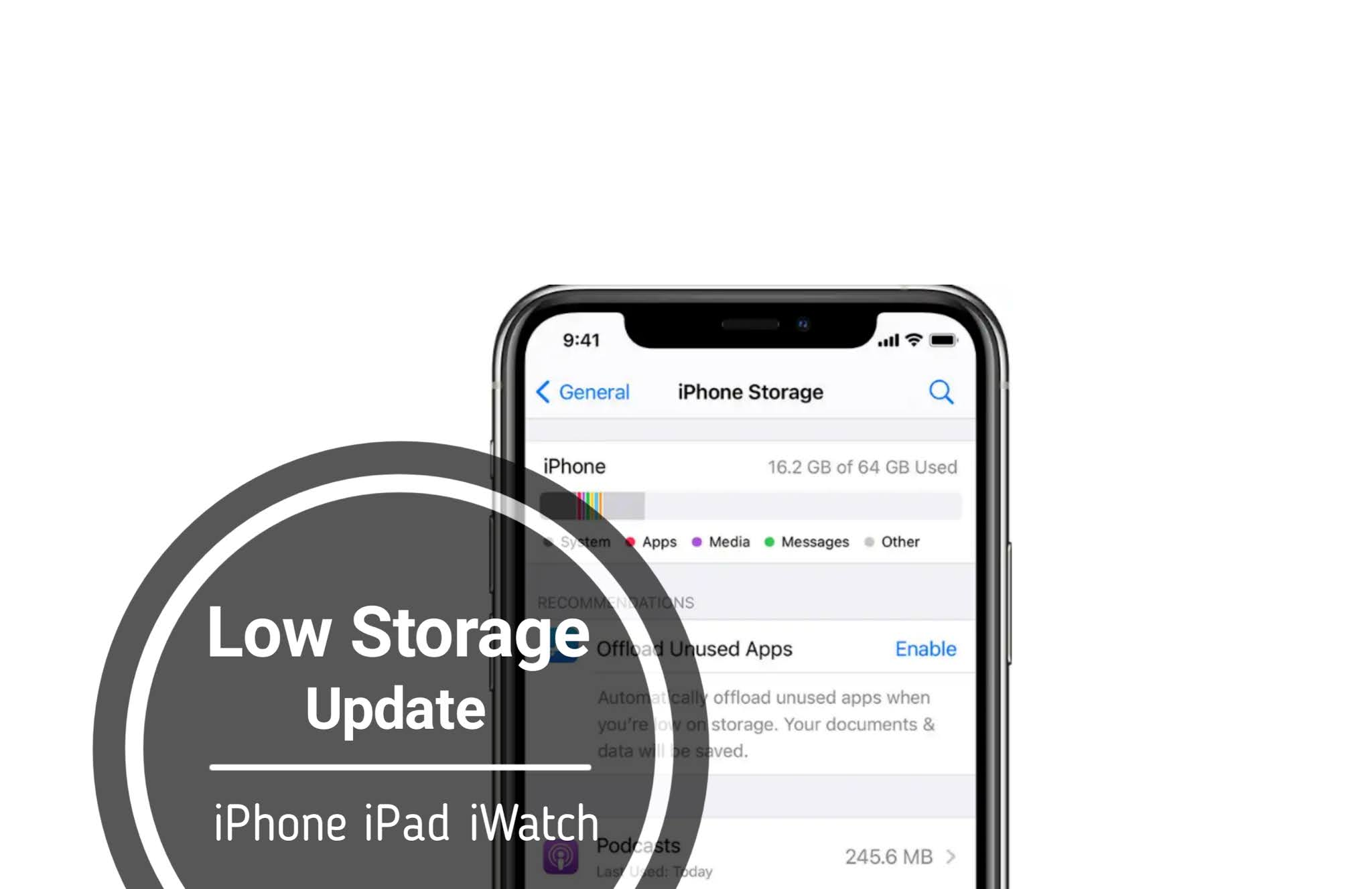 How To Update Your iPhone, iPad With Low Storage Available