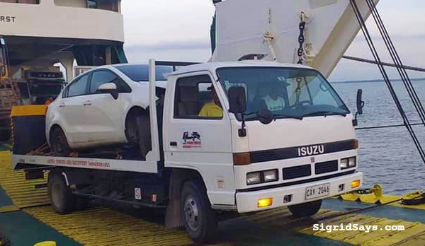 Javin's Towing Service Bacolod - Bacolod towing service - Bacolod City - Bacolod blogger - super cars - miata- towing super cars - car break down - emergency towing service - transporting a vehicle to Iloilo - Bacolod to Iloilo RORO