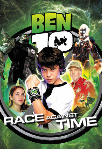 Ben 10 Race Against Time 2007 DVDRip Hindi Dubbed