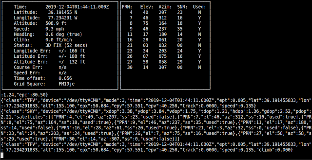 Supratim Sanyal's Blog: Stratum 1 NTP Time Server and GPS location using gpsd on Linux: cgps