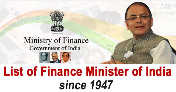 finance ministers of india since 1947