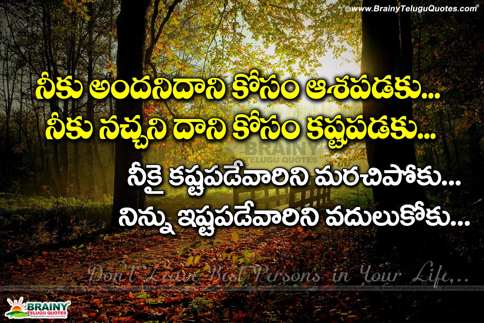 Brainy Quotes Motivational Life Quotes Messages In Telugutelugu Life Quotes