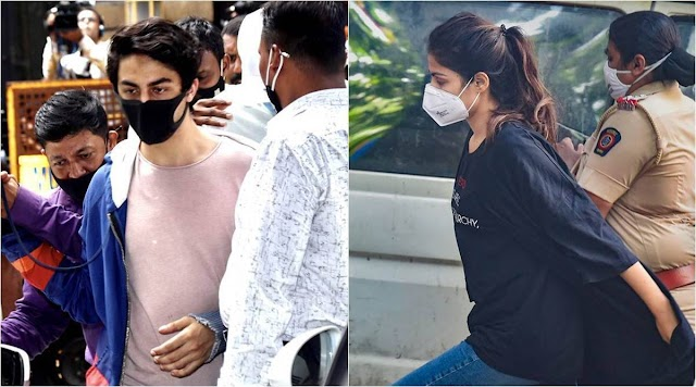 In Rhea Chakraborty, Aryan Khan arrests,NCB relies only on WhatsApp chats