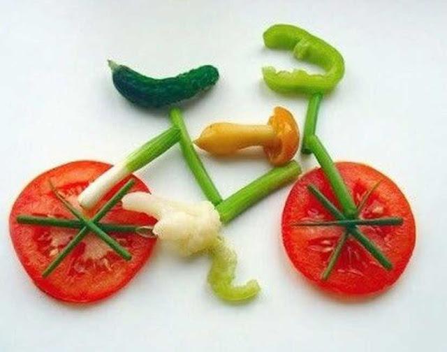 как интересно подать овощи