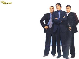 Sanjay Dutt Amitabh Bachchan And Ajay Devgan