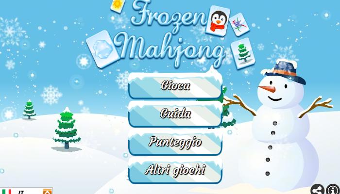 Gioca gratis a Frozen Mahjong