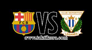 برشلونة وليغانيس بث مباشر