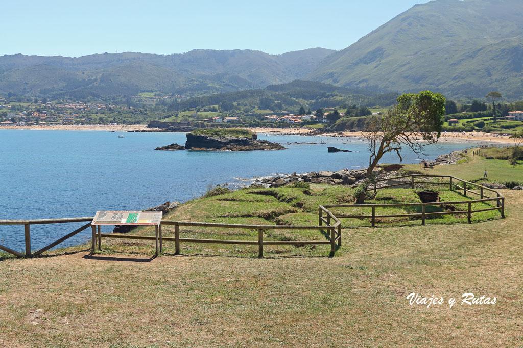 Trincheras de La Isla, Asturias