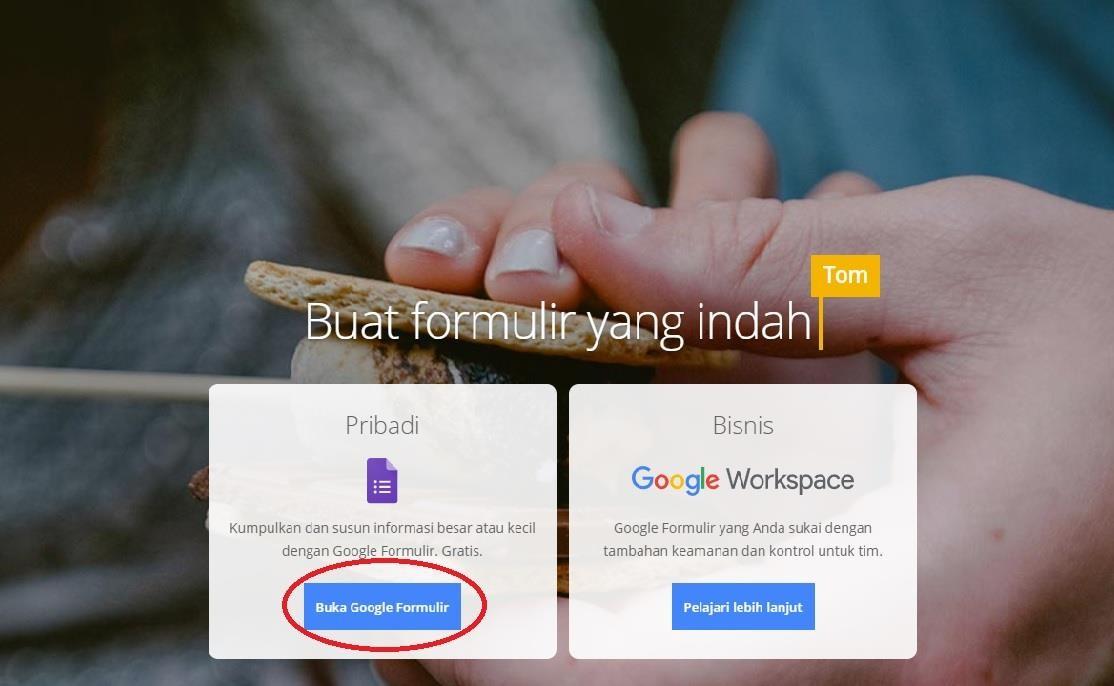 google formulir