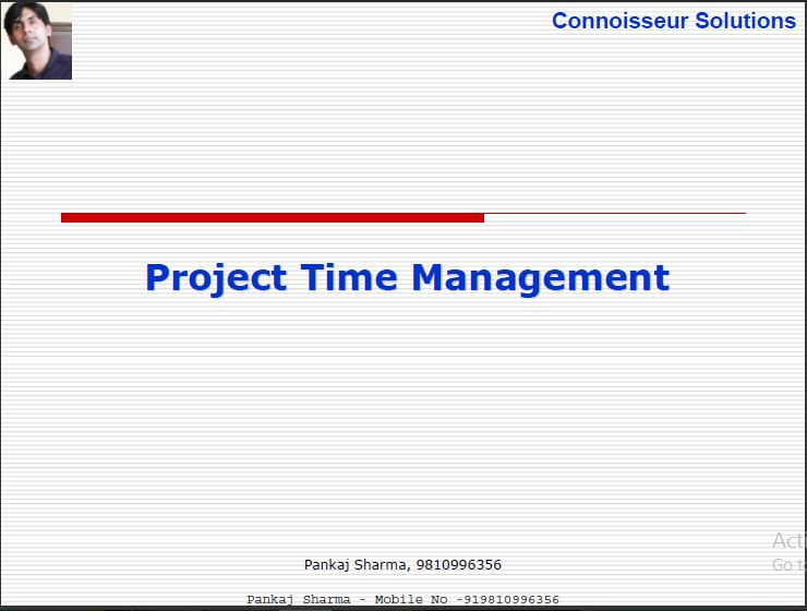 Time qatar For project Management Boxing