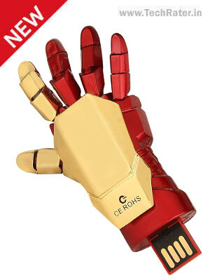 Iron Man Hand 16 GB Pendrive