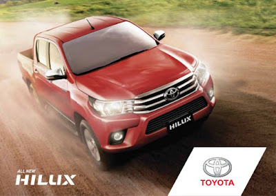Toyota Hilux 2017 off road truck image