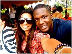 muhoho kenyatta and his girlfriend