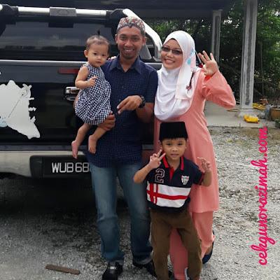 family, mat jawa, raya 2017, #inikanraya, irfan hensem, dhia zahra