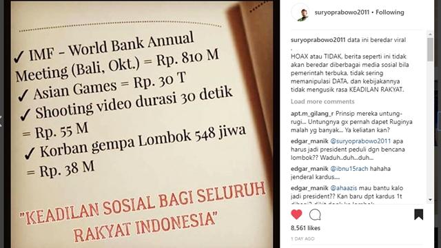 Pak Jokowi, Berapa Biaya Video Aksi Moge, Benar Puluhan Miliar?