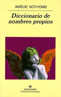 Diccionario de nombres propios Amélie Nothomb