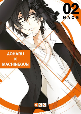 """Manga: Review de """"Aoharu x Machinegun"""" Vol.2 de Naoe - ECC Ediciones"""