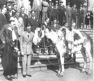 AIMÉ TSCHIFFELY, MANCHA Y GATO ¡Hazaña! De Buenos Aires a Nueva York a caballo