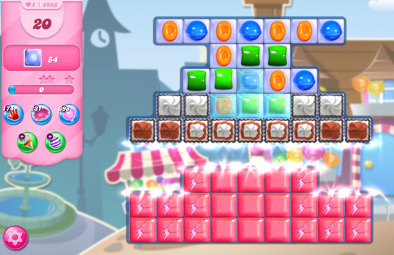 Candy Crush Saga level 6996