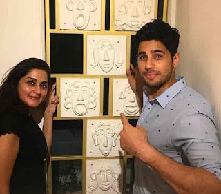 Sidharth Malhotra With His Sister-In-Law