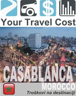 Kazablanka, Maroko – Trošak