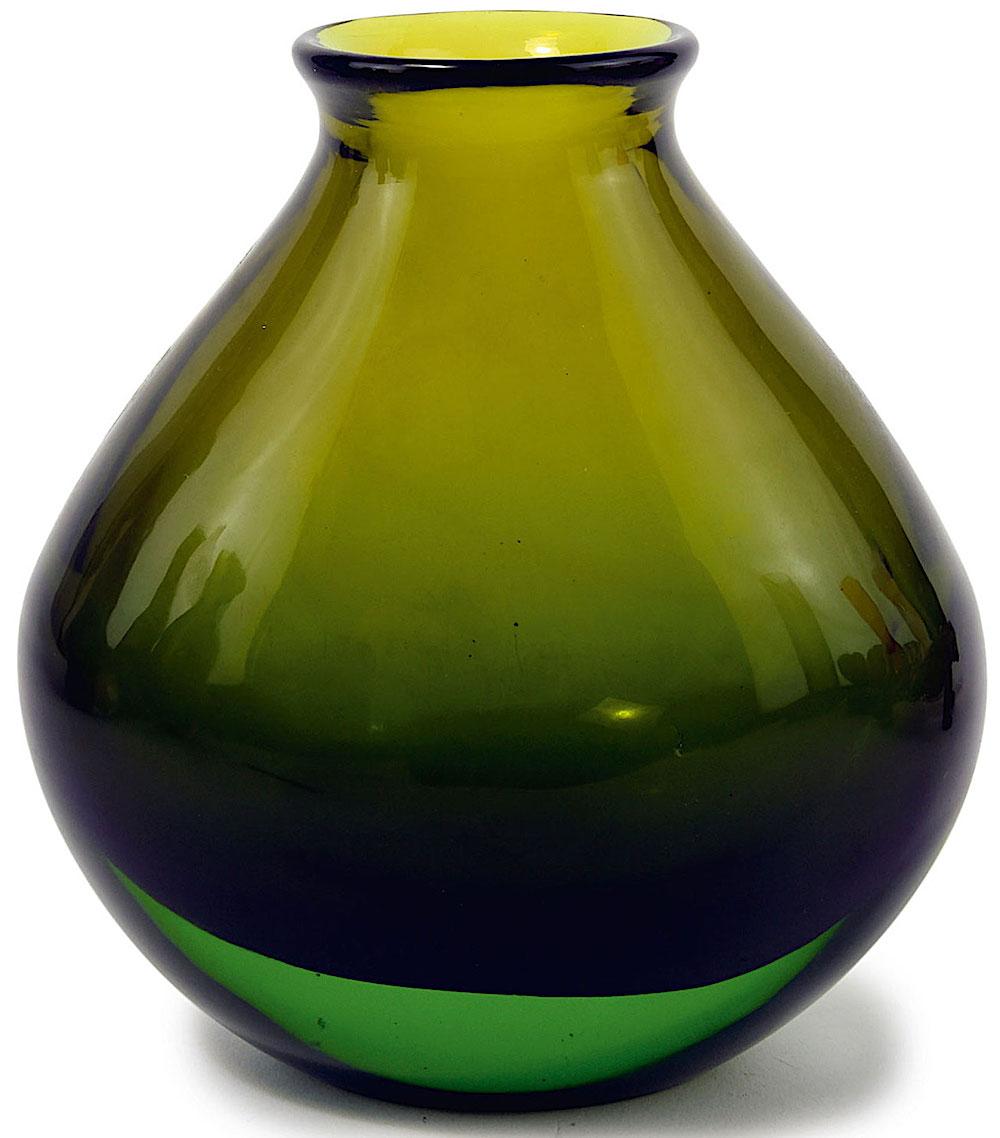 Murano glass 1961 green