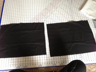 Cutting Pillow Fabric