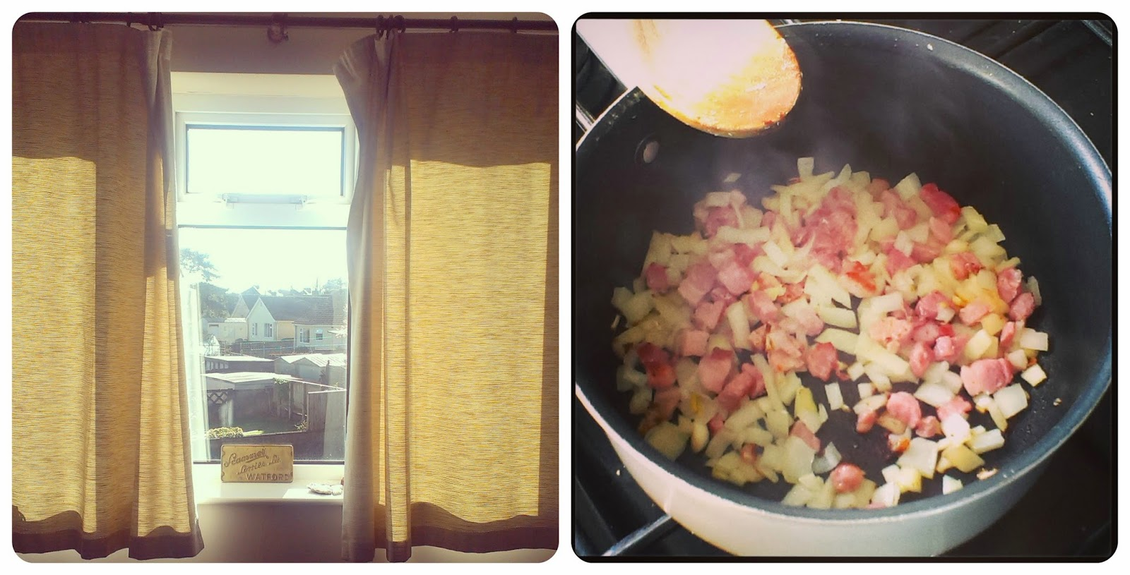 Sunlight and breakfast