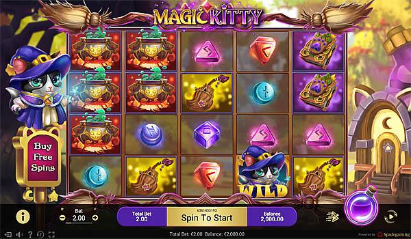 Main Gratis Slot Indonesia - Magic Kitty Spadegaming