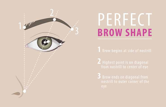 the basic steps to get perfect eyebrows