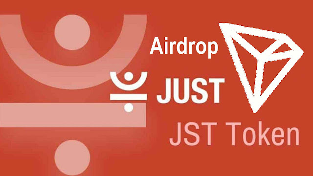 JUST Tokens Airdrop for Tron TRX Holders