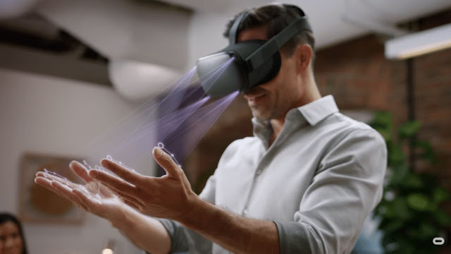 فيسبوك سوف تسمح لك بالتحكم بالعالم الافتراضي عن طريق اليد فقط