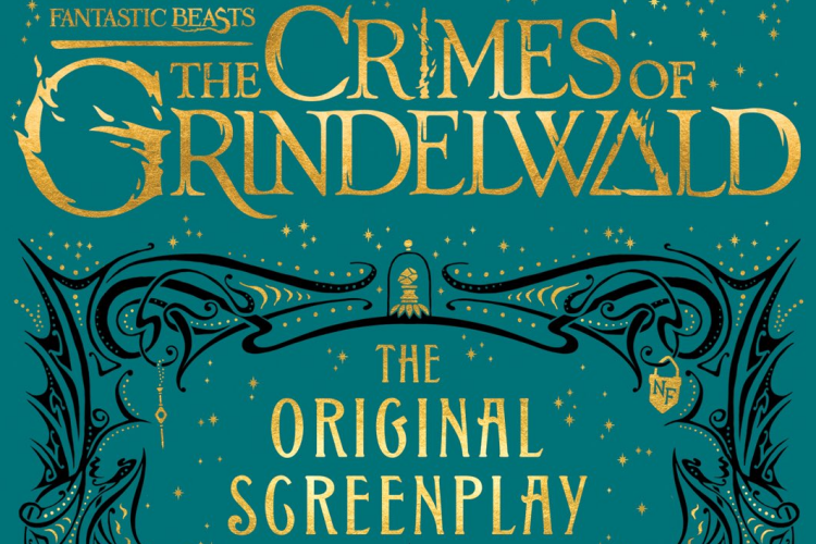 Fantastic Beasts: The Crimes Of Grindelwald Cover Screenplay