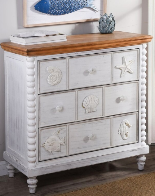 Coastal Chests and Cabinets and Dressers