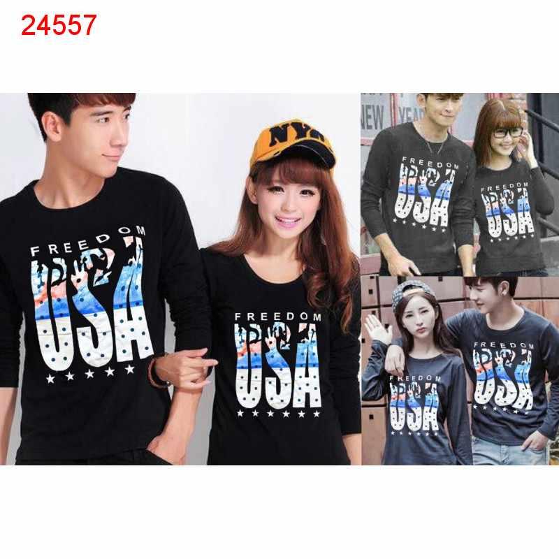 Jual Couple Lengan Panjang LP Freedom - 24557